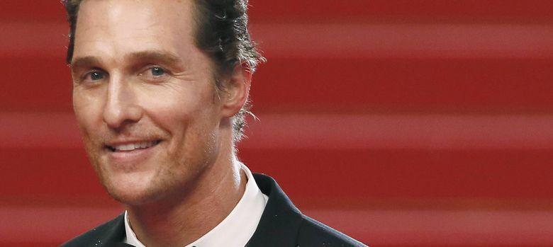 Foto: Matthew McConaughey en el 65° festival de cannes (EFE)