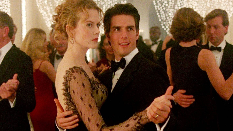 Tom Cruise y Nicole Kidman, en un fotograma de la película 'Eyes wide shut'.