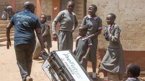Tablets contra la brecha digital en las escuelas de Kenia