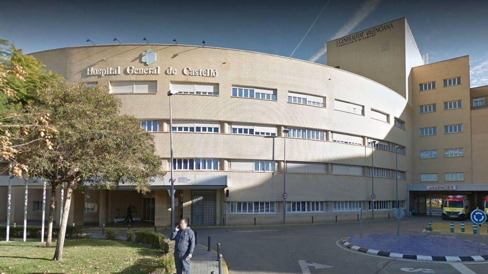 Foto: Exterior del Hospital General de Castellón, donde se produjeron los hechos (Google Maps)