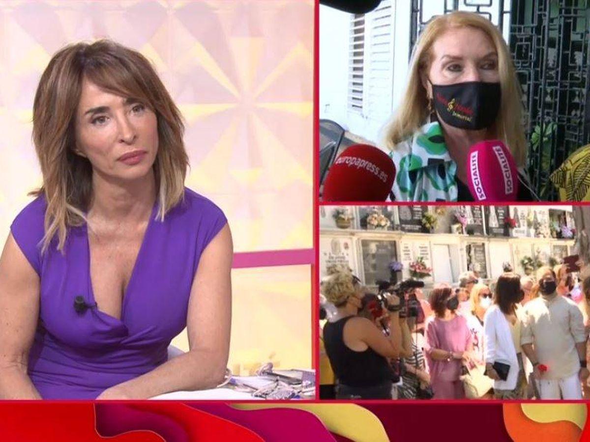 Foto: María Patiño conecta con Gloria Mohedano en 'Socialité'. (Mediaset)
