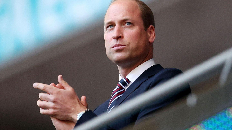 El duque de Cambridge, durante el partido. (Reuters)