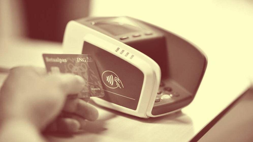 Foto: Una tarjeta de crédito 'contactless'