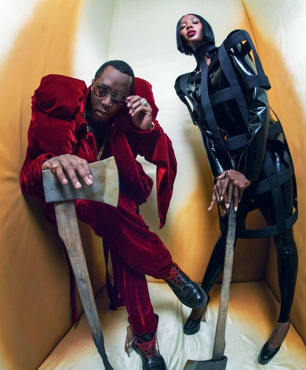 Foto: Naomi Campbell y Sean Diddy