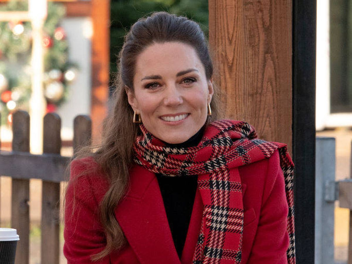 Foto: Kate Middleton durante su visita a Cardiff. (Getty)