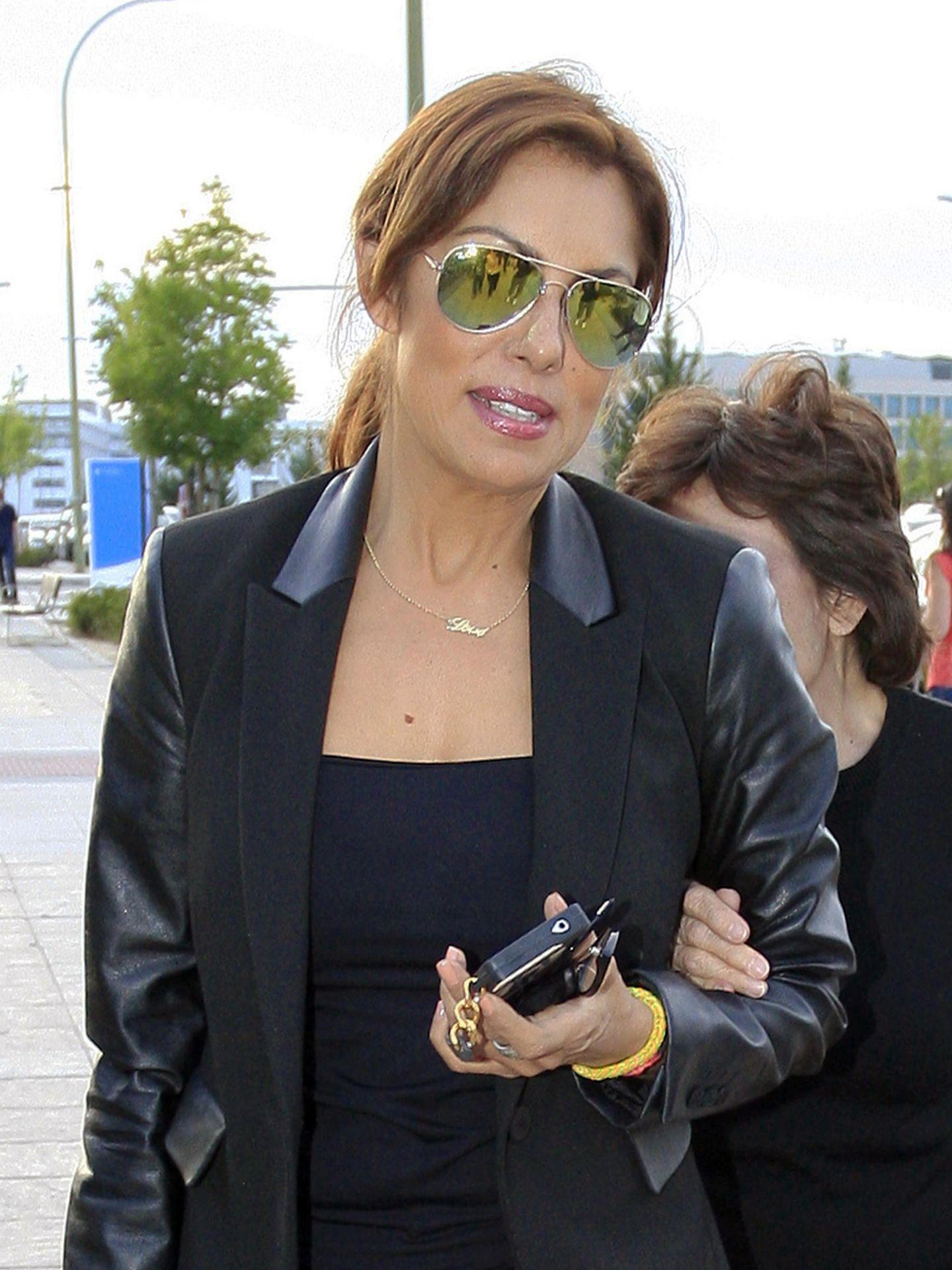 La presentadora en  una imagen de 2014.(Gtres)