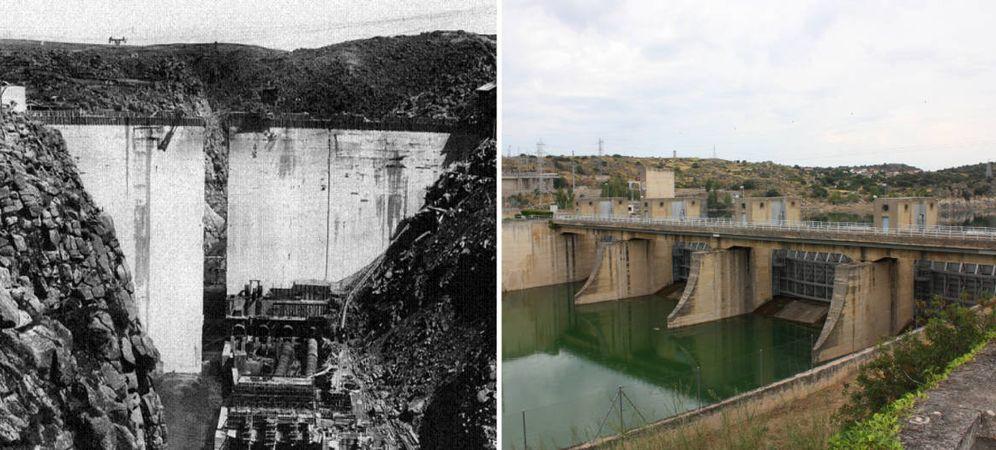 Foto: En 1929, empezó una obra monumental en este rincón de Zamora. (Ayuntamiento de Muelas del Pan)
