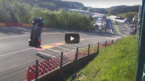 El brutal accidente que no se vio en las 6 horas de Spa