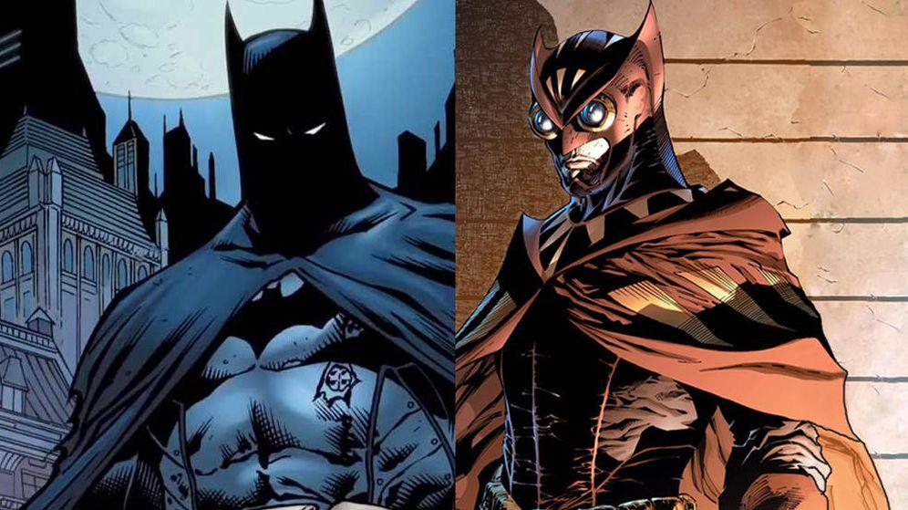 Foto: Batman VS Búho Nocturno (Watchmen)