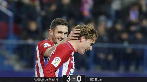 A Griezmann le apetece mucho esta Copa y acerca al Atlético a semifinales