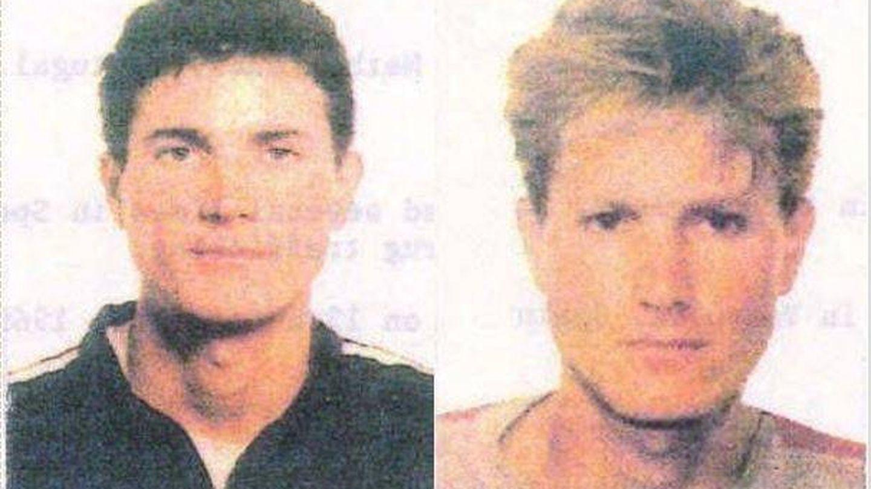 Los cambios de imagen de Antonio Anglés en 1993. (Interpol)