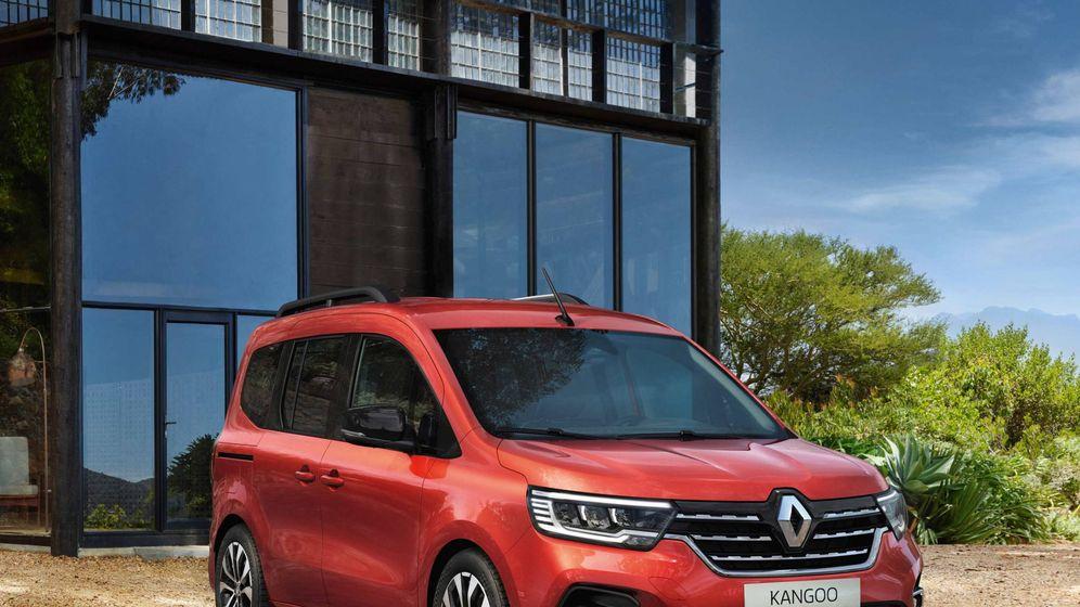Foto: En primavera llegará al mercado español una nueva generación del Kangoo con una estética más moderna.