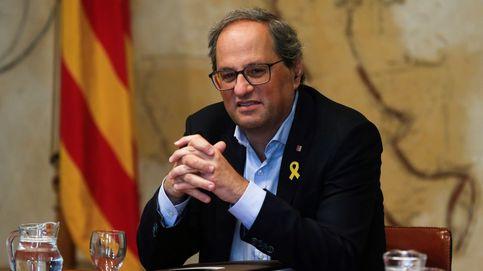 Torra pide a Podemos que defienda la autodeterminación en la negociación con Sánchez