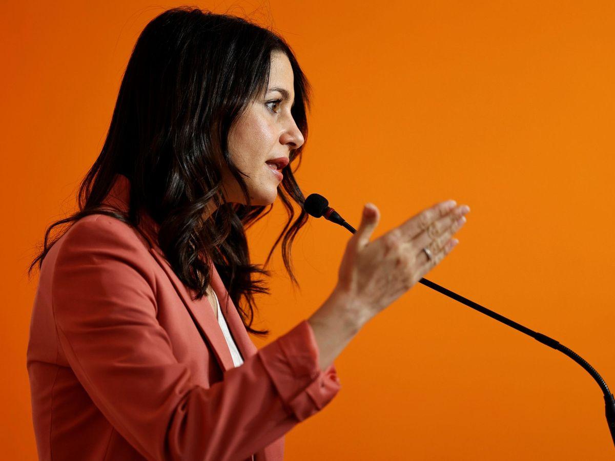 Foto: La presidenta de Ciudadanos (Cs), Inés Arrimadas. (EFE)