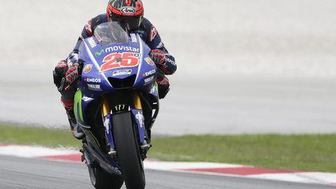 El agotamiento de Rossi frente al liderazgo en la pista de Maverick Viñales