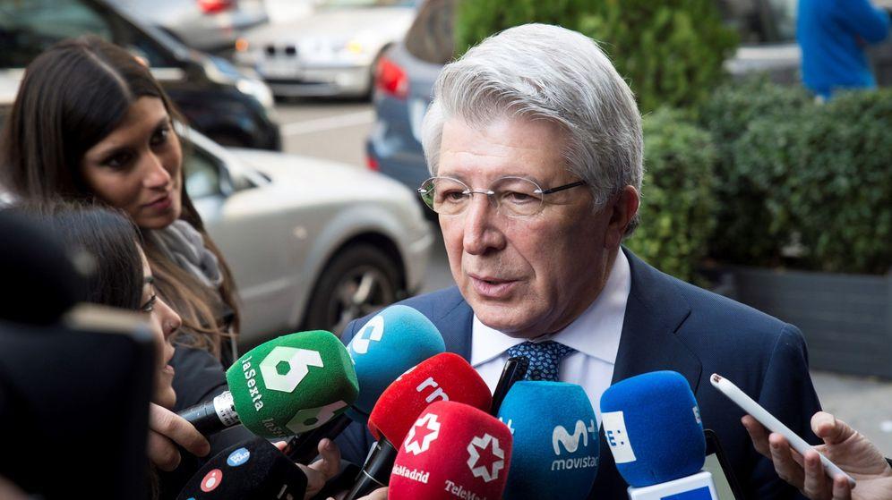 Foto: Enrique Cerezo, presidente del Atlético de Madrid. (Efe)