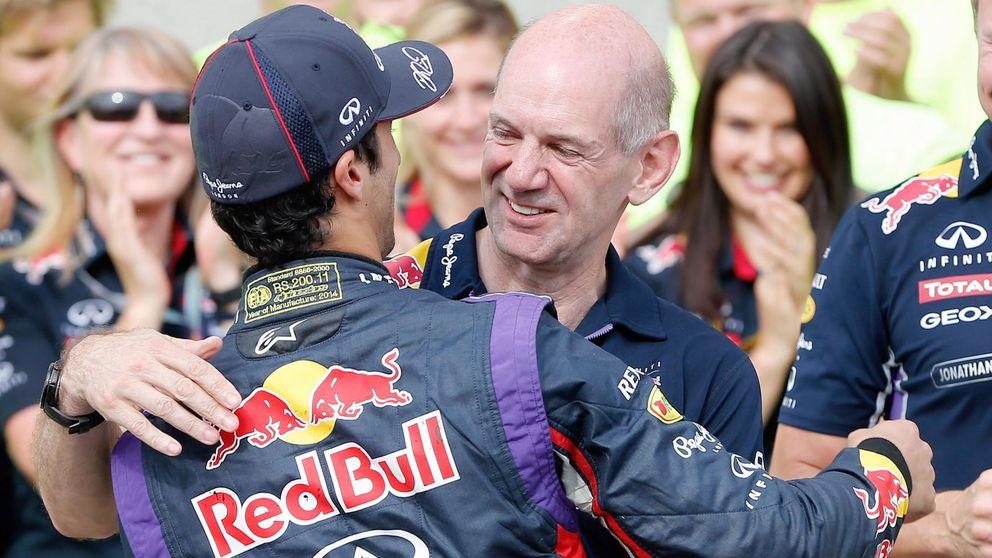 Adrian Newey 'abandona', no ve claro el futuro de la Fórmula 1