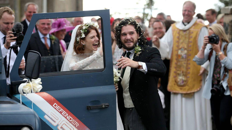 La boda de Kit y Leslie. (Cordon Press)
