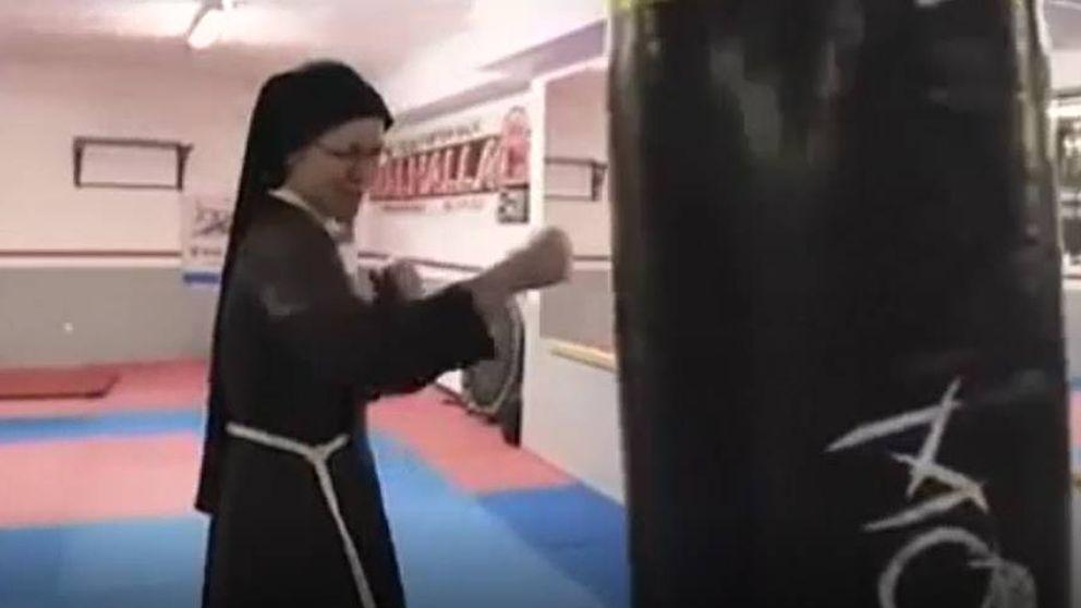 Monjas polacas se vuelven virales boxeando por una buena causa