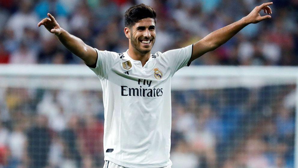 Los privilegios de Marco Asensio en el Real Madrid o por qué es especial