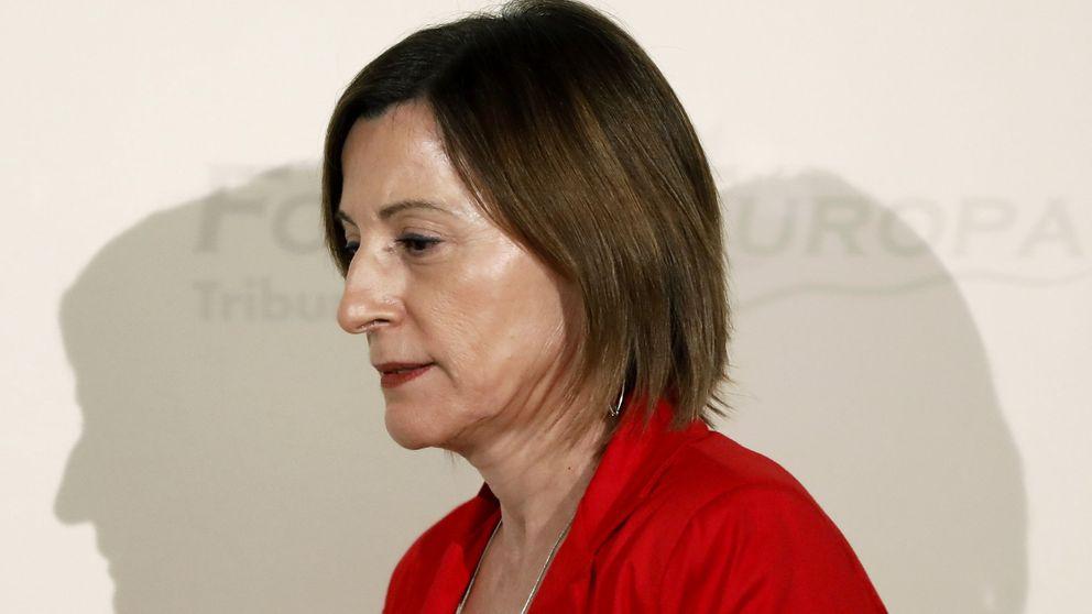 El Gobierno espera que el TC suspenda a Forcadell si tramita la ley de referéndum