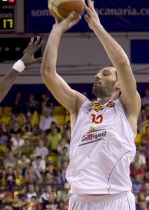 """Garbajosa afirma que la selección llega a Vitoria sólo a """"jugar a baloncesto"""""""