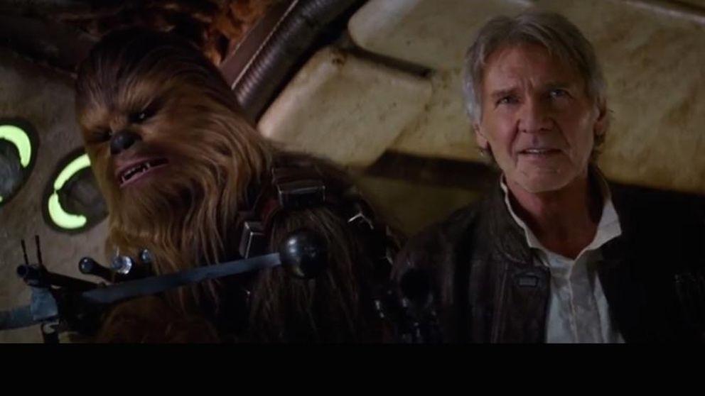 Primer trailer de 'Star Wars, el despertar de la fuerza' con Harrison Ford
