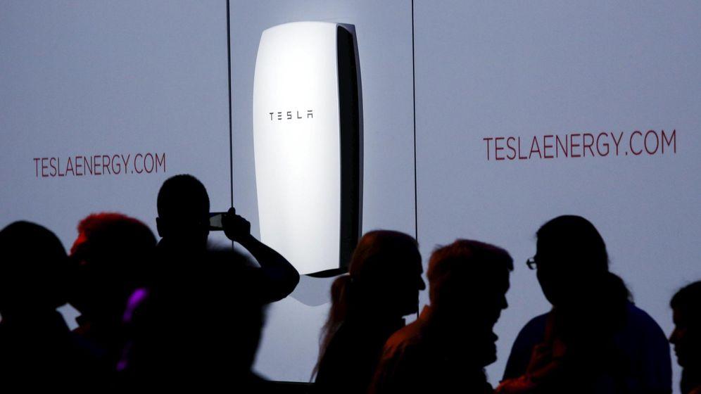 Foto: Presentación de la primera batería de Tesla. (Reuters)