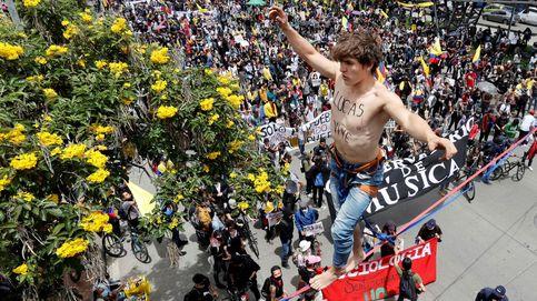 Nueva jornada de protestas en Colombia