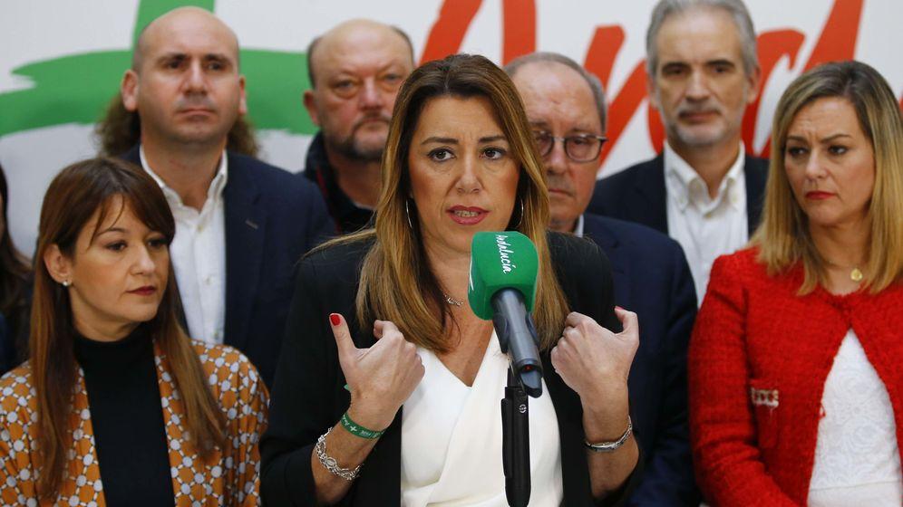 Foto: Susana Díaz, en una comparecencia del 3 de diciembre. (Reuters)