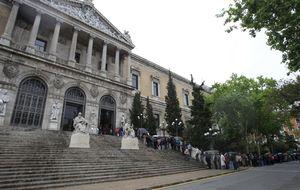 La Biblioteca Nacional perdió 3,5 millones de euros en 2013