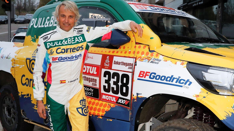 Jesús Calleja quiere volver al Dakar en 2020. (EFE)