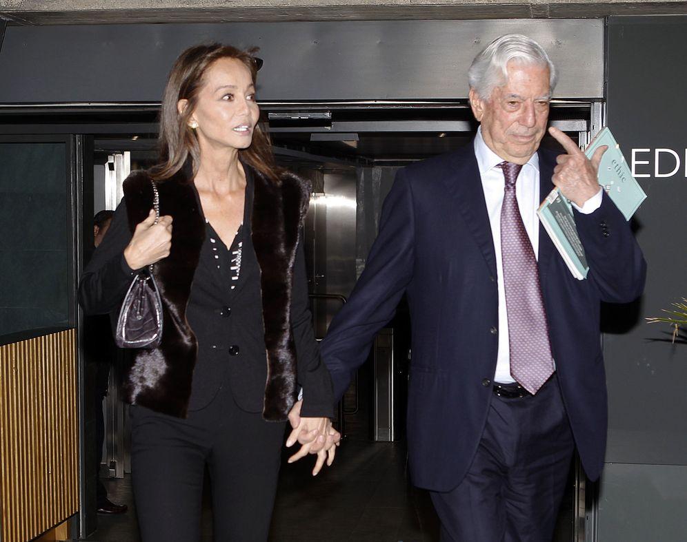 Foto: Isabel Preysler Y Mario Vargas Llosa En Una Imagen De Archivo