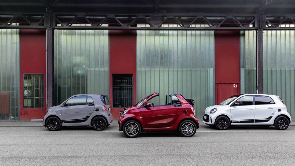 Foto: El nuevo Smart EQ aporta novedades en su diseño y equipamiento interior y solo en versiones eléctricas.