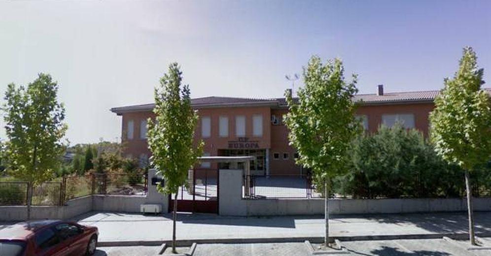 Foto: El Colegio Europa de Pinto, en una imagen de Google Street View.