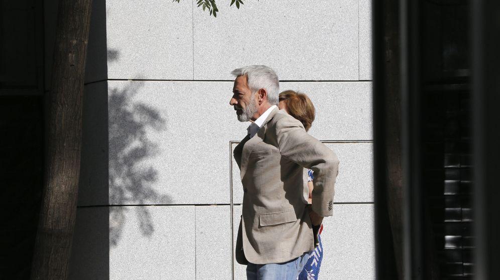 Foto: Arias llega a la Audiencia. (EFE)