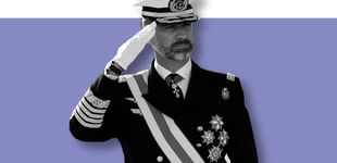 Post de Felipe VI de uniforme: el estilo más regio del monarca