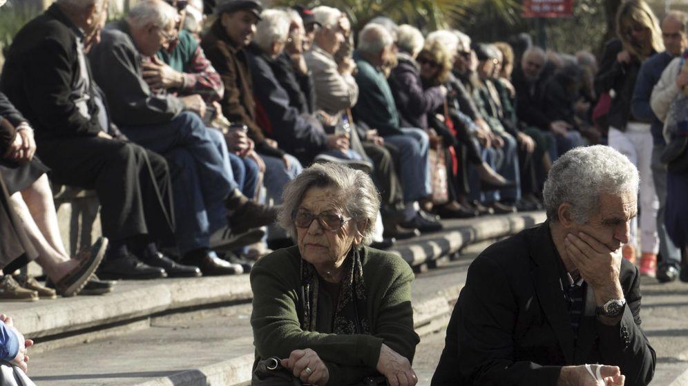 Foto: Pensionistas. (EFE)