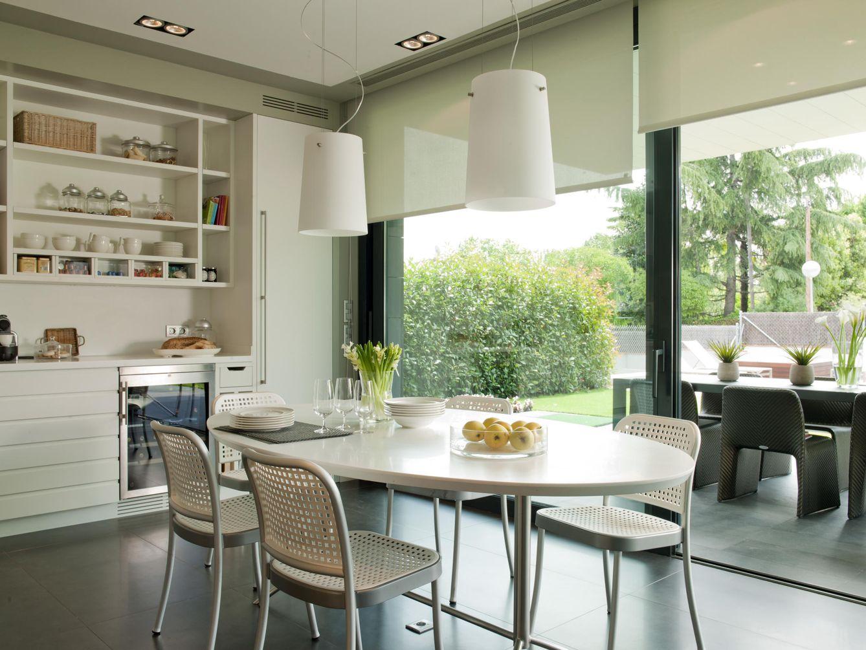 Decoración: Cocinas abiertas al exterior: ocho ideas de distribución ...