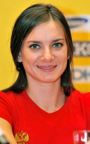 """Isinbayeva hará """"una pausa de duración indeterminada"""""""