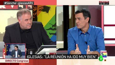 Los 25 titulares de Sánchez en 'Al rojo vivo': Mi prioridad es que Rajoy no sea presidente