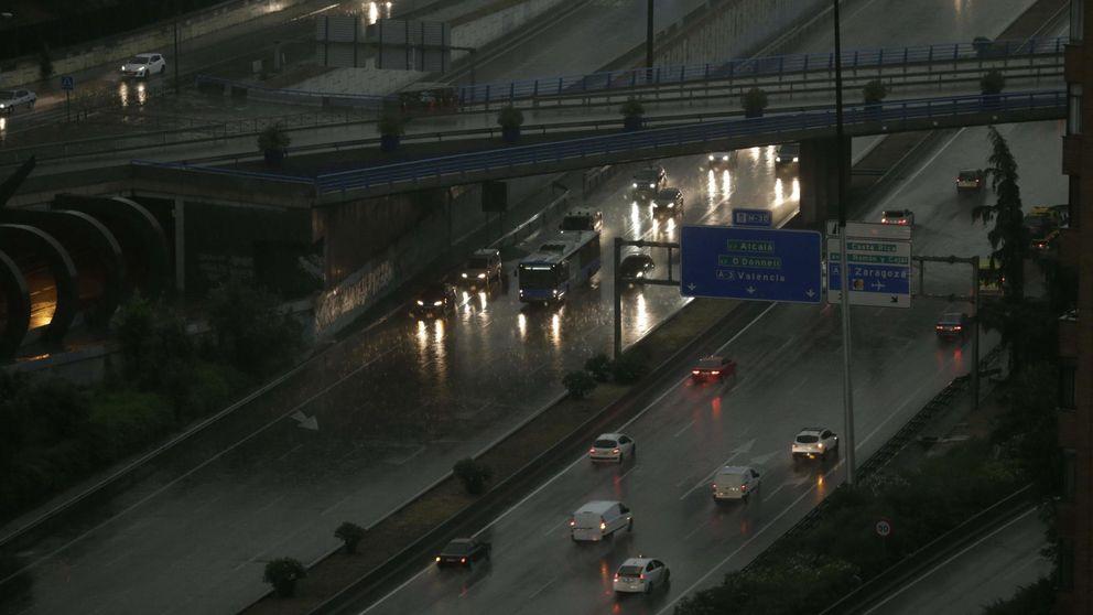 Lluvia en Madrid: Una mujer de 28 años ha fallecido arrastrada por la corriente