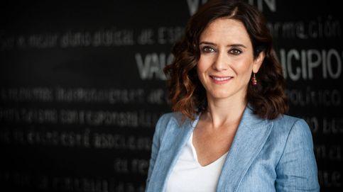Díaz Ayuso, antes de la entrevista. (Carmen Castellón)