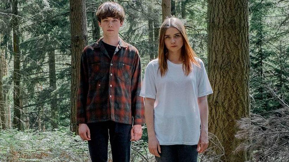 Foto: Los protagonistas de 'The End of the F**king World', en Netflix.