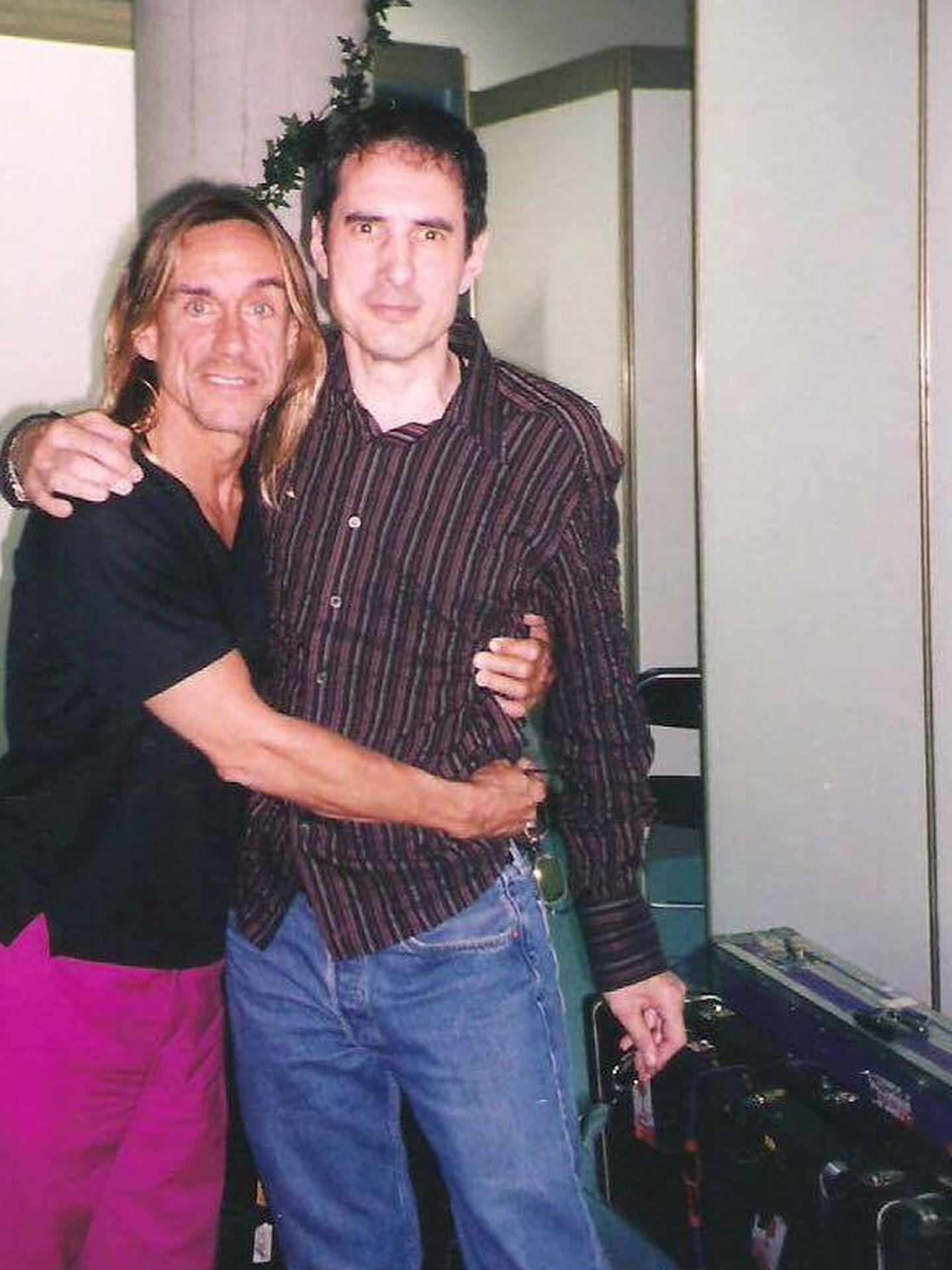 Iggy Pop y Gay Mercader.