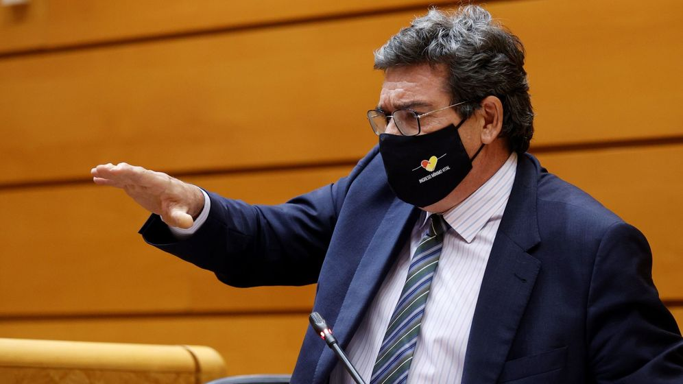 Foto: El ministro de Seguridad Social, Inclusión y Migraciones, José Luis Escrivá