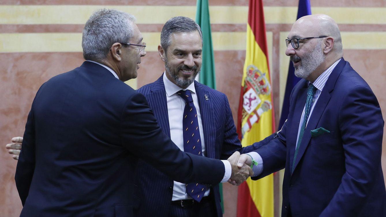 Vox blinda la legislatura andaluza en plena bronca con PP y Cs en Madrid