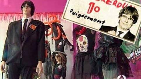 Puigdemont, el disfraz más terrorífico en Halloween