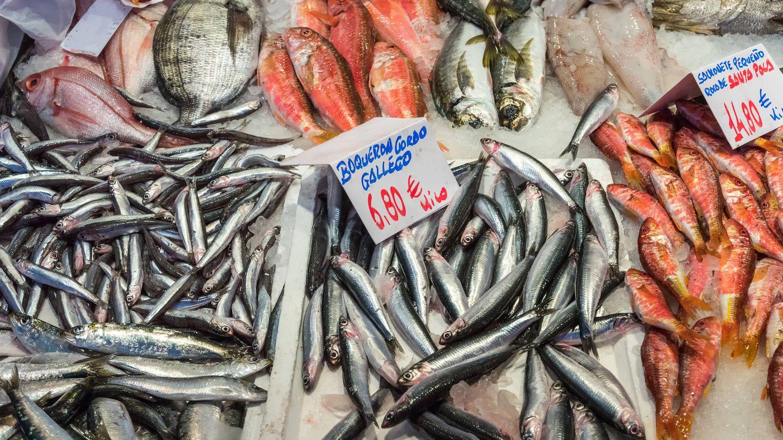Pescadería en Madrid. (iStock)
