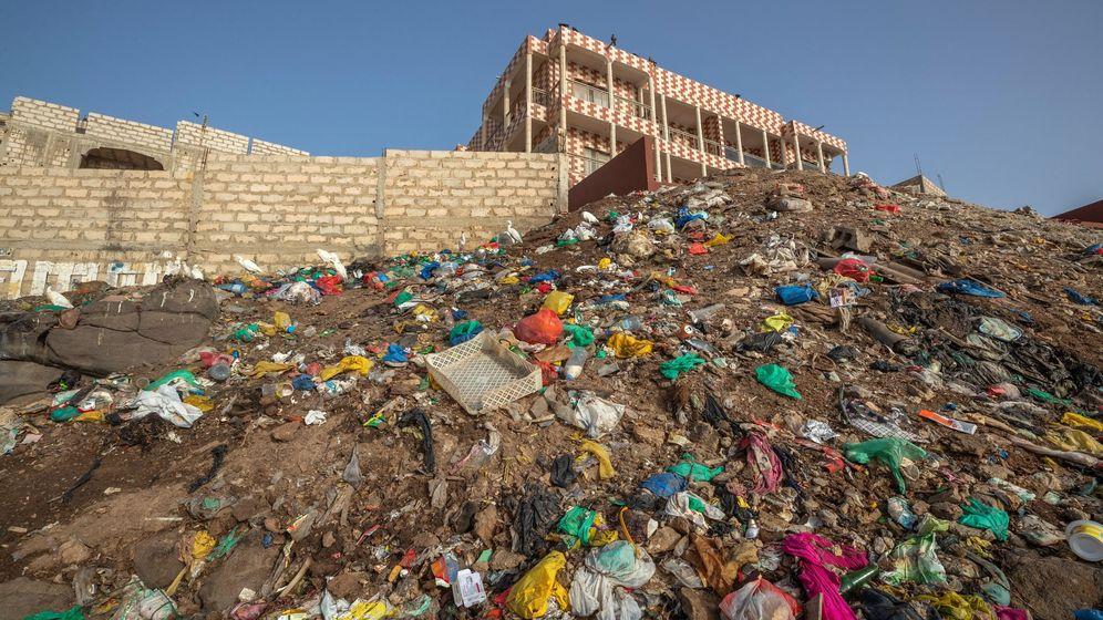 Foto: El vertedero es uno de los más grandes de Sídney dedicados al reciclaje de materiales de construcción